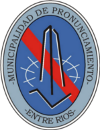 Municipalidad de Pronunciamiento